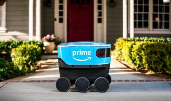 Amazon запускает автономную доставку товаров шестиколесными беспилотниками