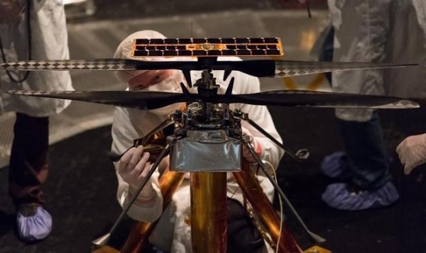Первый марсианский вертолет NASA прошел все испытания