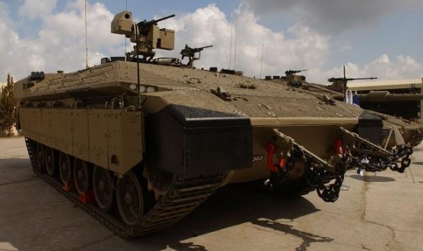 Новая израильская БМП «Namer» может прийти на смену американским М2 Bradley